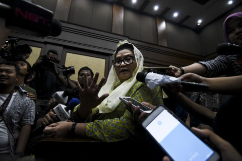 Siti Fadilah Segera Menyerahkan Uang Pengganti Rp550 Juta