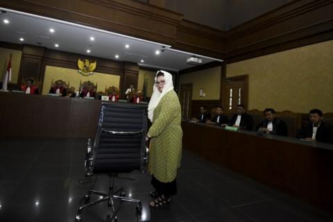 Siti Fadilah Tidak Terkejut Divonis Empat Tahun Penjara