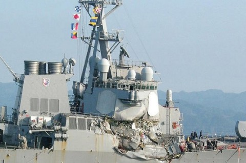 Pencarian Tujuh Pelaut AS di Laut Jepang Berlanjut