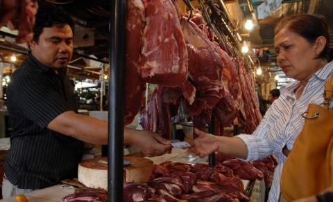 Harga Daging Sapi di Jakarta Masih Stabil