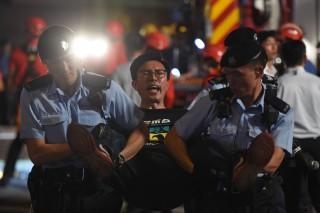 Demo Sambut Kunjungan Perdana Presiden China ke Hong Kong