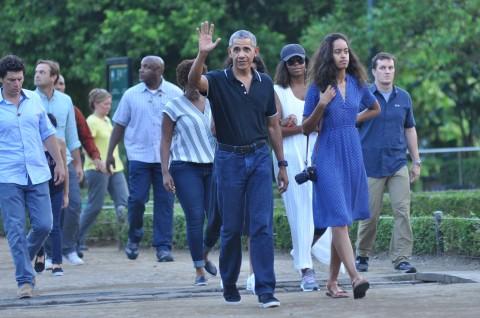 Dua Putri Obama Pilih Berkunjung ke Tamansari