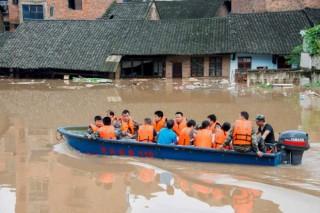 Banjir Bandang Landa China, 33 Tewas dan 15 Hilang