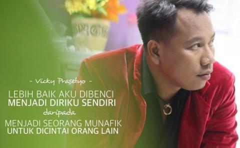 Motivasi Tinggi Vicky Prasetyo Ikut Pilkada Kota Bekasi