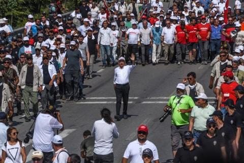 Oposisi Terus Lanjutkan Aksi Protes Anti-Pemerintah Turki
