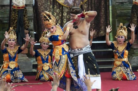 Aksi Napi Lapas Kerobokan dalam Pesta Kesenian Bali ke-39