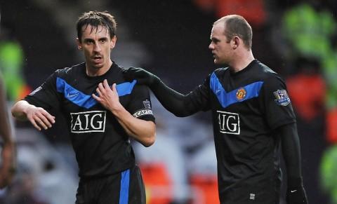 Neville: Rooney Striker Terbaik MU