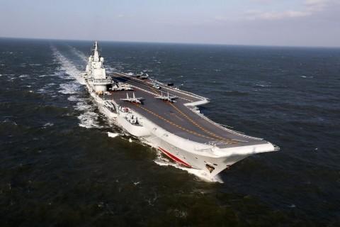 Kapal Induk China Dilaporkan Masuk ke Wilayah Taiwan