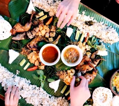 Ngeliwet, Budaya Makan Bersama yang Jadi Tren Kekinian