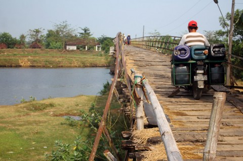 Jembatan Gerdu Jepara Butuh Perbaikan
