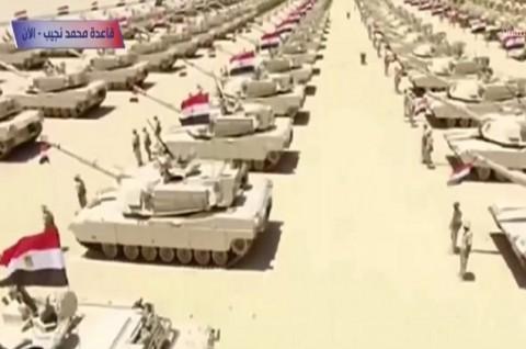 Mesir Buka Pangkalan Militer Terbesar di Timur Tengah