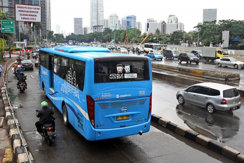 Ibukota DKI Jakarta. MI/Galih Pradipta.