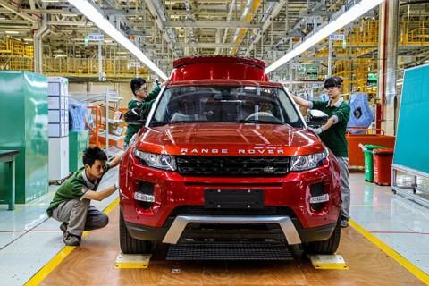 Jaguar Land Rover Bangun Pabrik Mesin di Cina