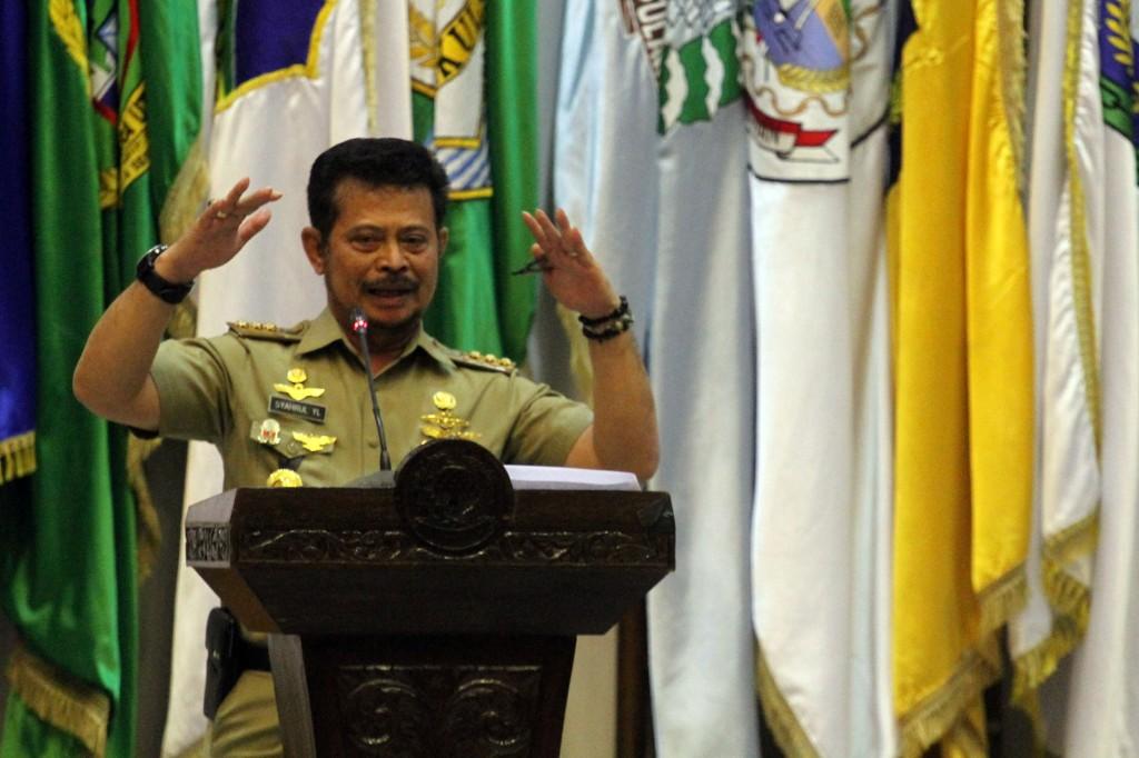 Gubernur Sulawesi Selatan (Sulsel) Syahrul Yasin Limpo. Foto: MI Arya Manggala