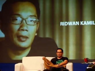 Ridwan Kamil Paling Diobrolkan di Medsos
