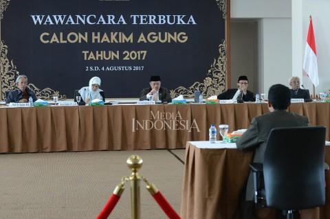 14 Calon Hakim Agung Jalani Seleki Wawancara