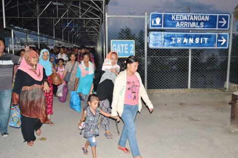 24 TKI Ilegal Dideportasi dari Malaysia