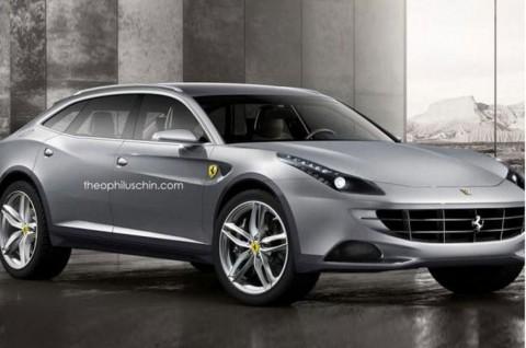 Ferrari Bakal Lahirkan SUV pada 2021