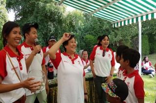 Rangkaian HUT ke-72 RI, Merah Putih Warnai Swiss