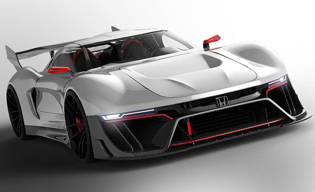 Hypercar Honda Siap Pamer Rupa 2020