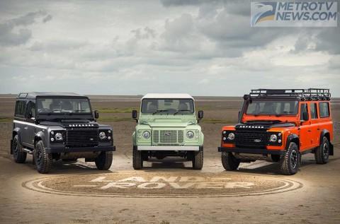 Jaguar Land Rover Pamer Jajaran Mobil Unik di Nava Park