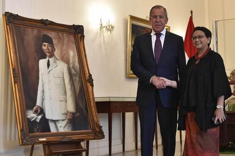 RI-Rusia Sepakat Tingkatkan Kerja Sama Bilateral