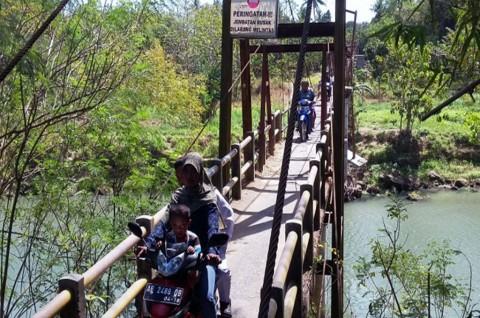 Bupati Bantul Mengklaim Sudah Berupaya Memperbaiki Jembatan Pundong