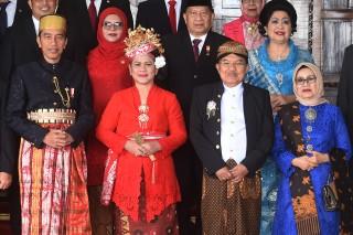 Sidang MPR/DPR Jokowi Kenakan Baju Adat Bugis