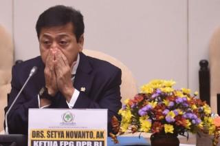 Novanto Absen Saat Jokowi Bacakan Nota Keuangan