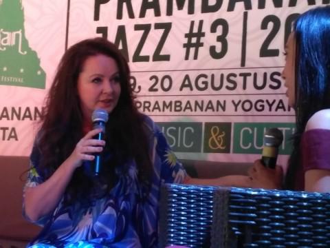 Sarah Brightman Antusias Tampil di Prambanan Jazz Festival 2017