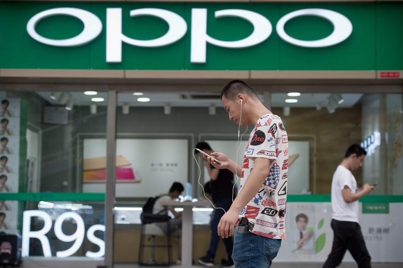 Penjualan Oppo di India turun. (FOCUS by Julien GIRAULT)