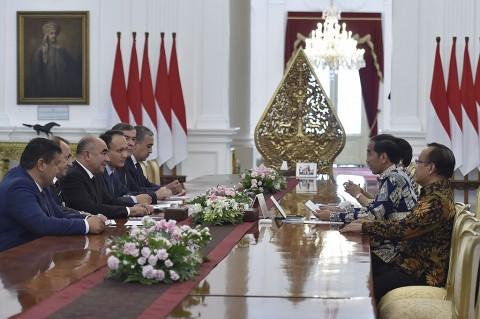 Terima Wakil PM Uzbekistan, Jokowi Bahas Pertanian dan Perikanan
