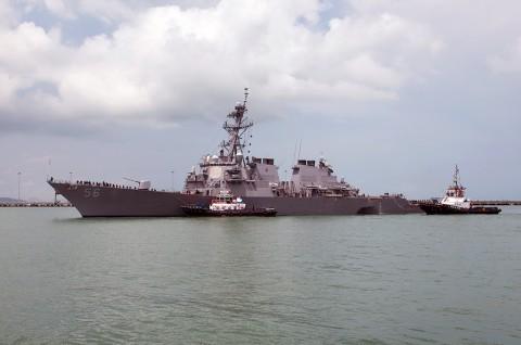TNI AL Perluas Pencarian 10 Awak Kapal AS