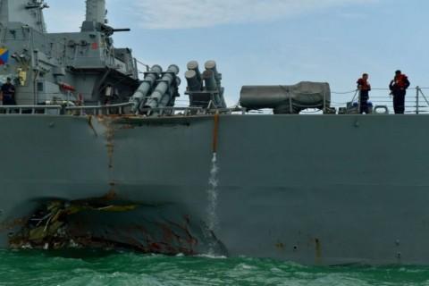 Angkatan Laut AS Pecat Komandan Armada Ketujuh Setelah Tabrakan Kapal