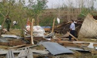 108 Rumah dan Fasilitas Umum di Langkat Rusak Dilanda Angin Kencang