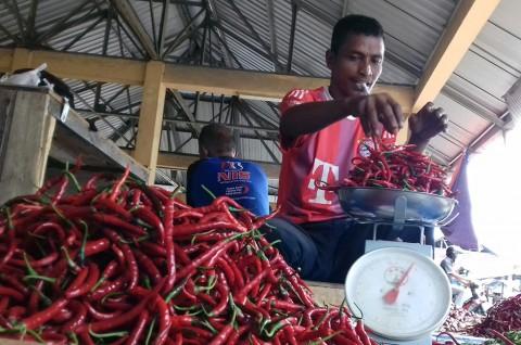 Harga Cabai Merah di Medan Bergerak Turun