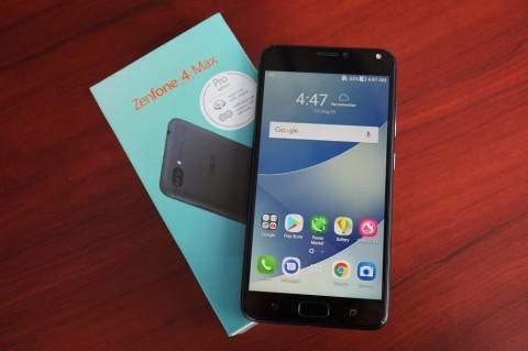 Membongkar Isi Kotak ASUS Zenfone 4 Max Pro