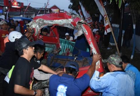 Tronton Rem Blong di Malang, Empat Orang Tewas