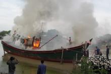 Dua Kapal Nelayan Pembom Ikan di Larantuka Dimusnahkan
