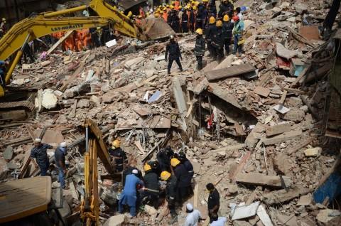 Korban Tewas Gedung Roboh di India Jadi 12 Orang