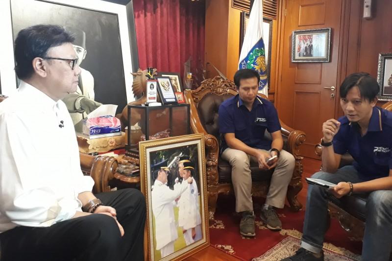 Menteri Dalam Negeri Tjahjo Kumolo. Foto: MTVN/M Sholahadhin Azhar