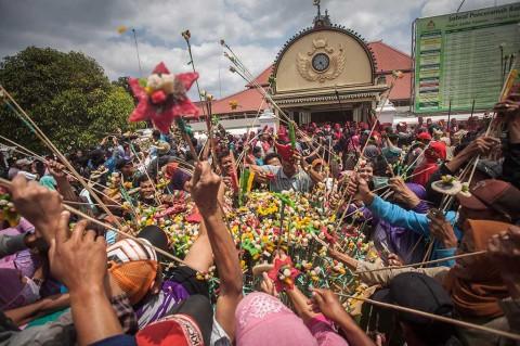 Keraton Yogyakarta Gelar Grebeg Besar Iduladha