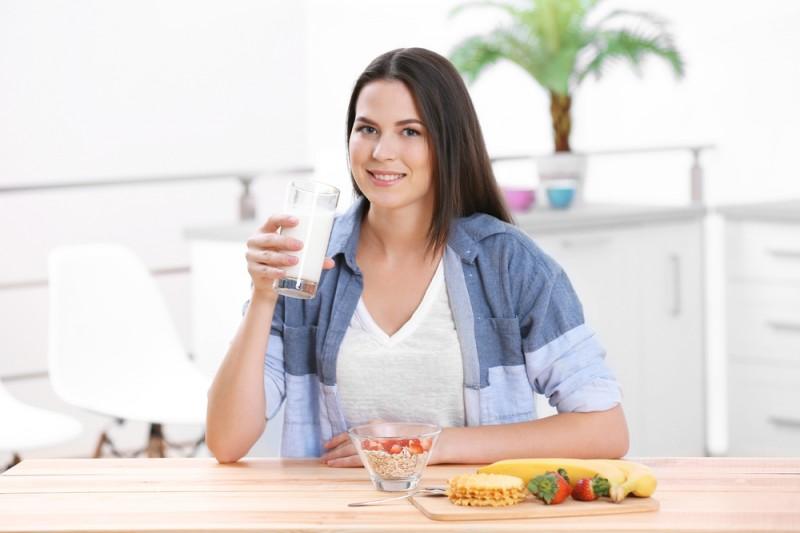 Produk susu sangat penting untuk mempersiapkan kehamilan, karena di dalamnya mengandung kalsium dan protein (Foto:Shutterstock)