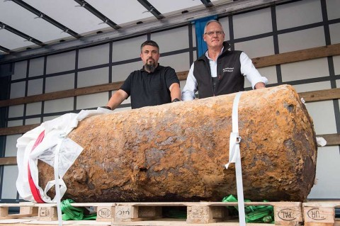 Bom Sisa PD II di Jerman Berhasil Dijinakkan