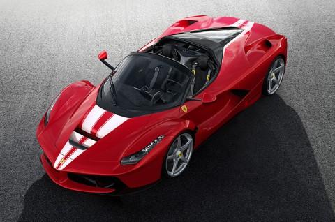 Ferrari akan Lelang LaFerrari Aperta Spesial