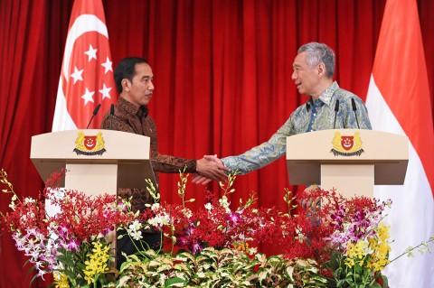 Bertemu PM Singapura, Jokowi Bahas Energi hingga Ekonomi Digital