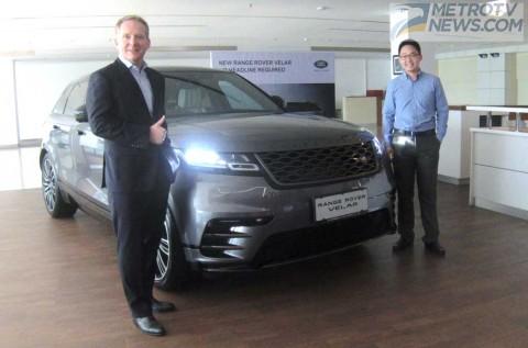Velar, Adik Bungsu Range Rover Mengaspal di Indonesia