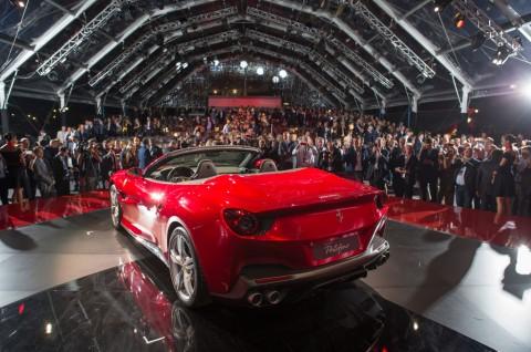 Portofino, Debut Dunia si <i>Entry Level</i> Ferrari