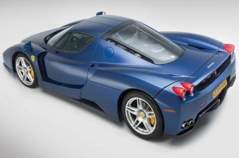 Ferrari Enzo Biru Matte Ini Laku Rp32 Miliar