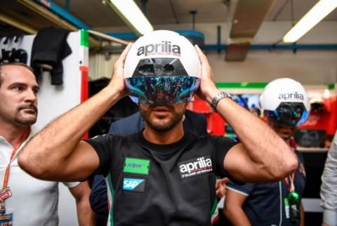 Aprilia Punya Helm Kru Tercanggih di Paddock MotoGP